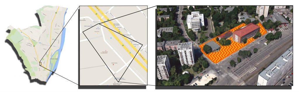 Tervezési terület - Szent Margit Rendelőintézet környezete
